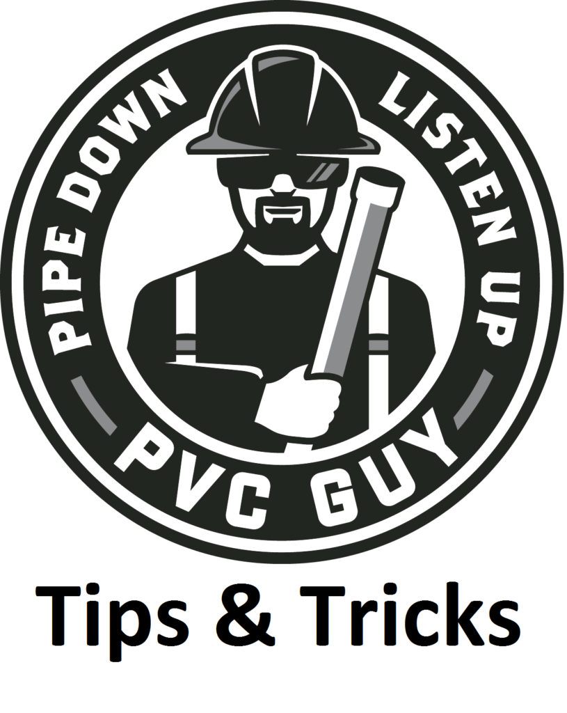 PVC_Guy_Logo Tips & Tricks
