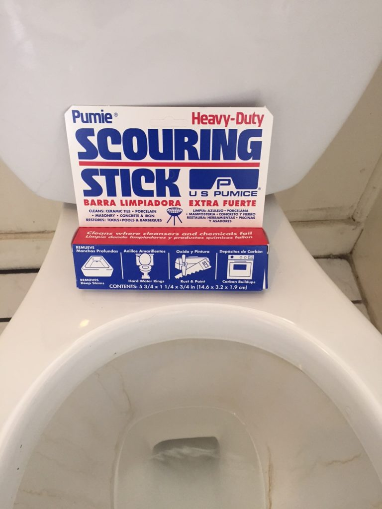 Scour the Toilet