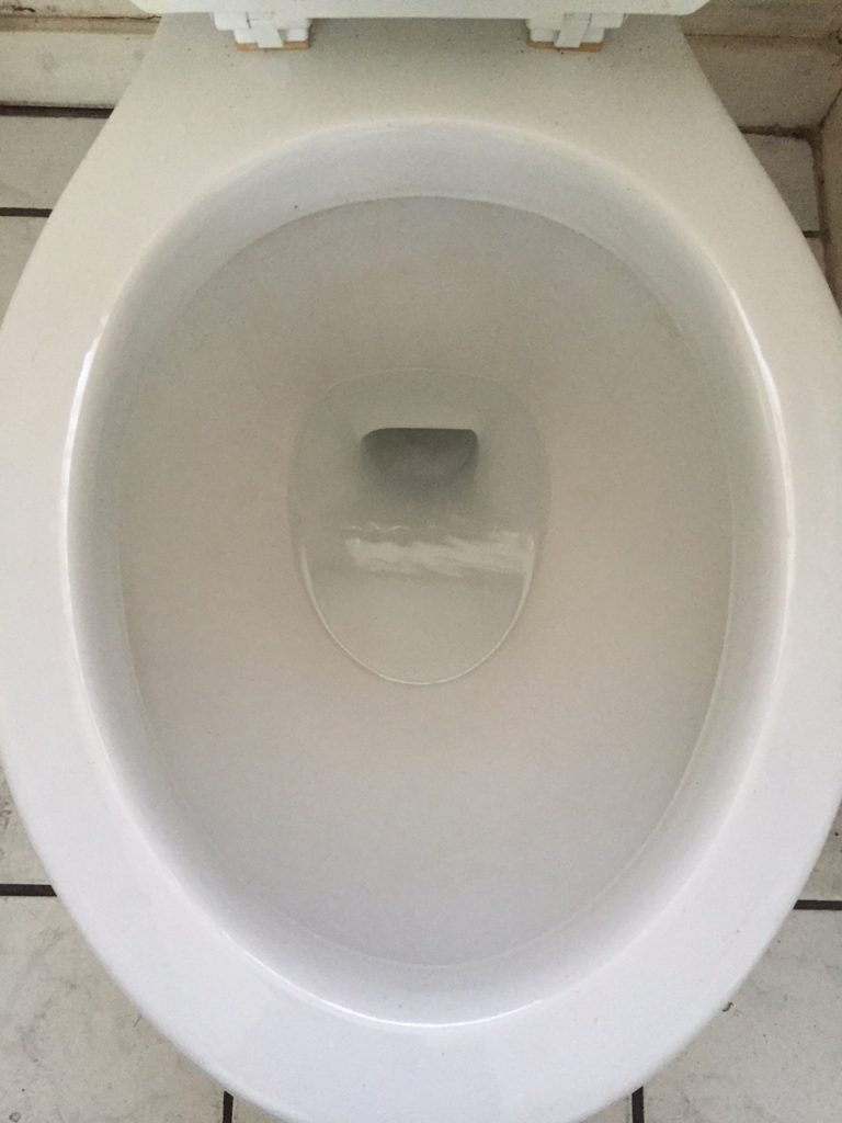 New Again Toilet